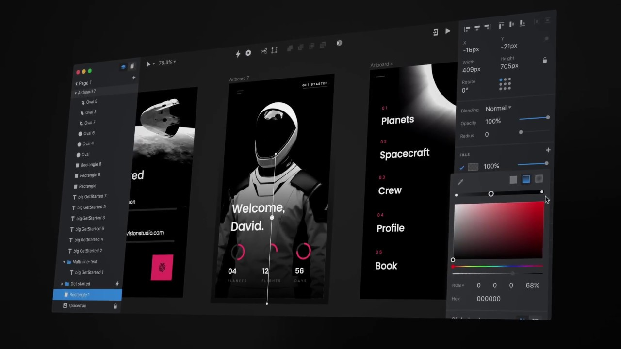 First Look at the Invision Studio