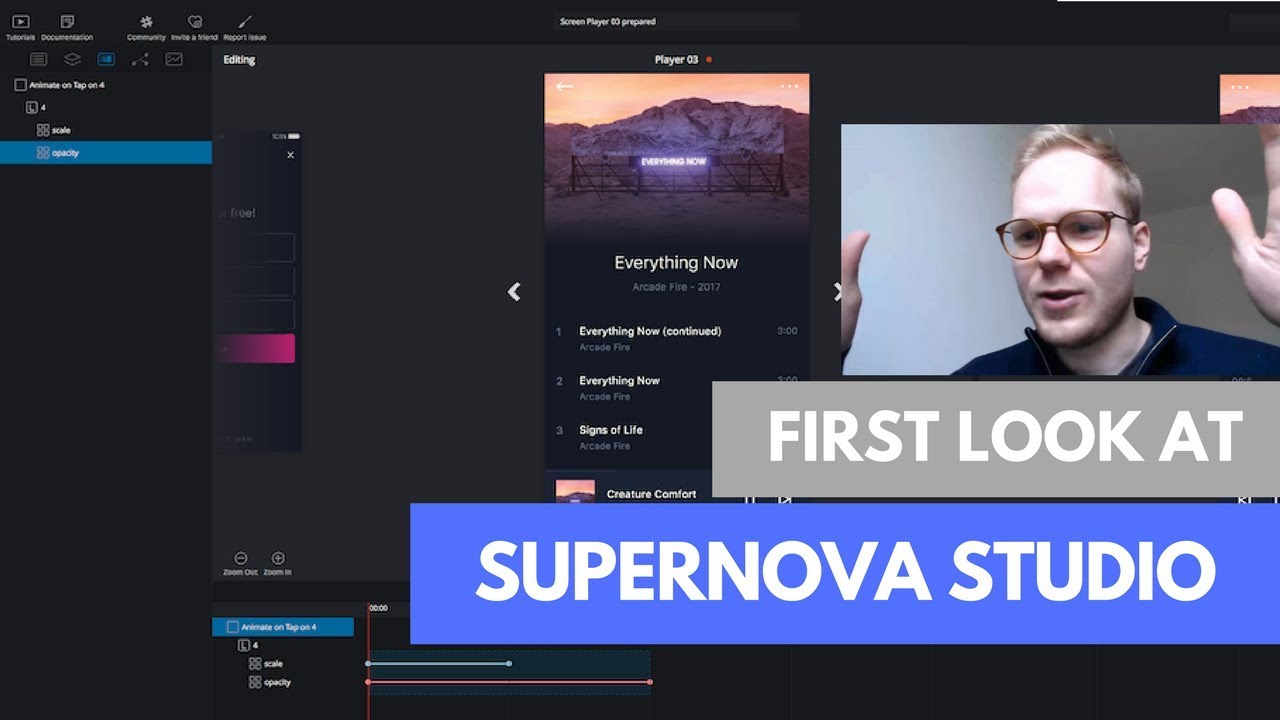 supernova studio first look