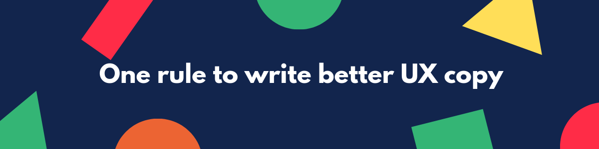 how to write better ux copy