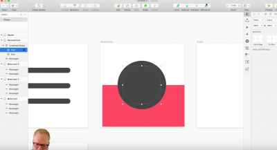 Sketch icons from scratch