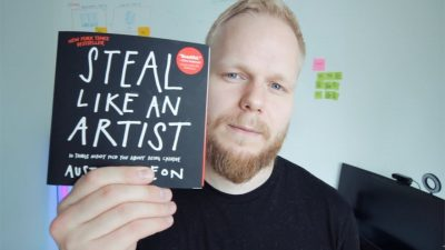 Staying creative in UX - steal like an artist