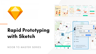 Sketch rapid prototyping UX