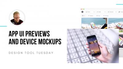 app ui mockup app design tool tuesday