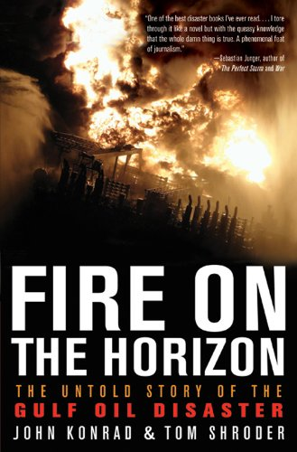 fire on the horizon book