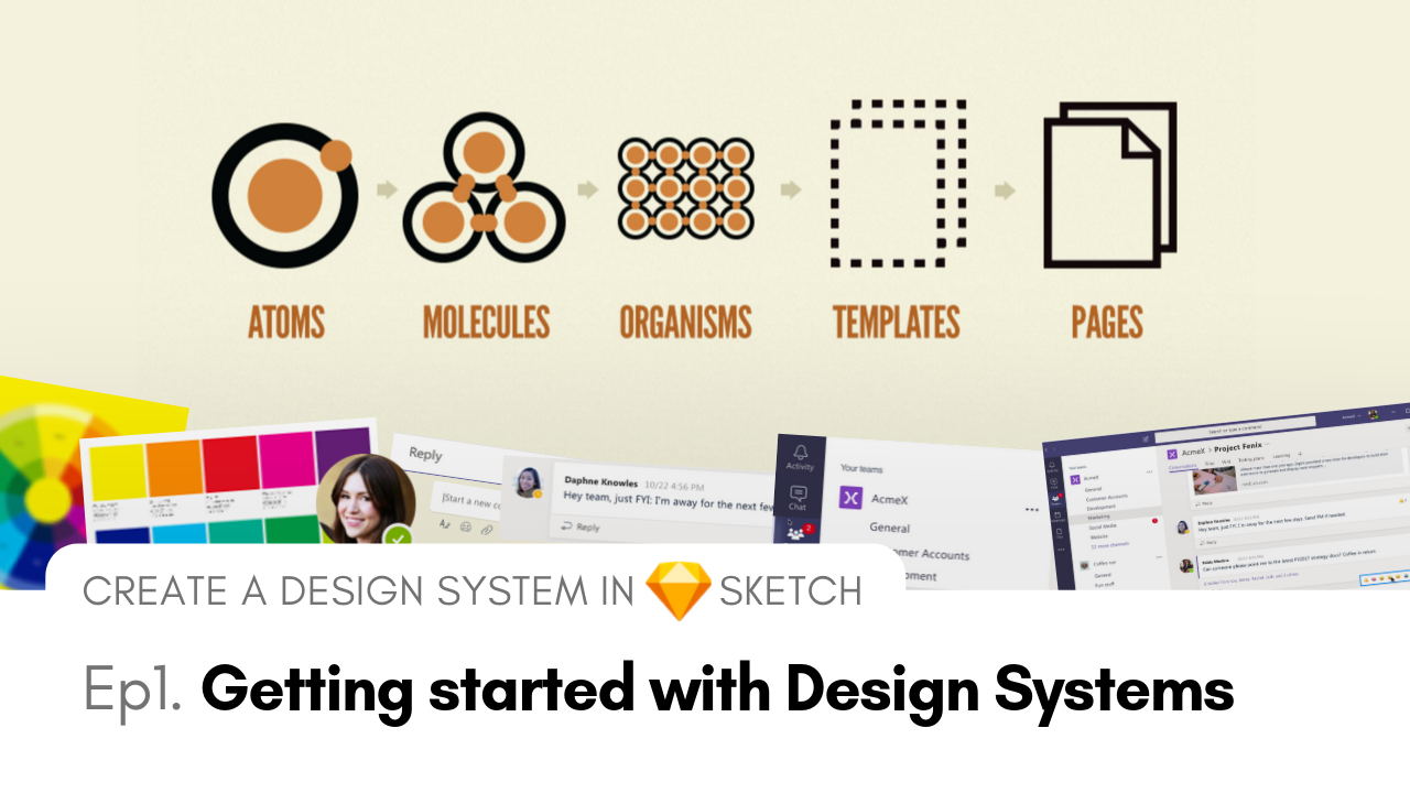 Get started with atomic design systems in sketch