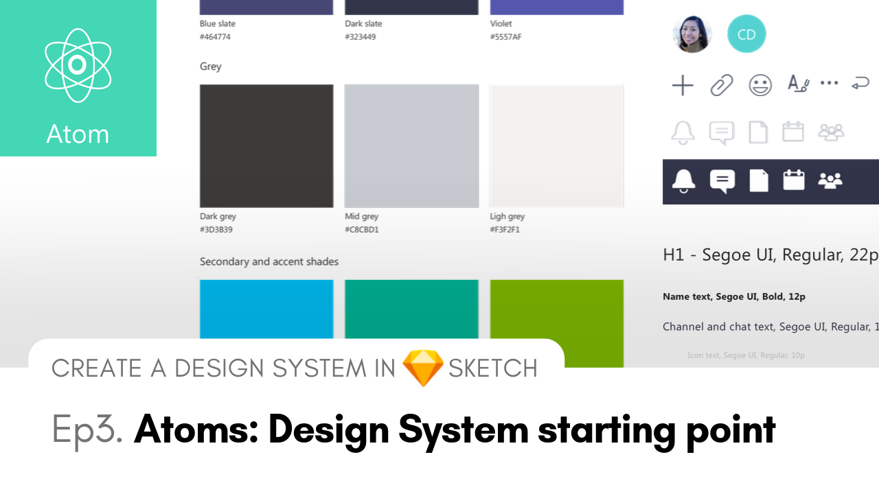 Atoms - Create an Atomic Design System in Sketch