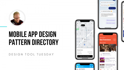 latest mobile design patterns - design tool tuesday