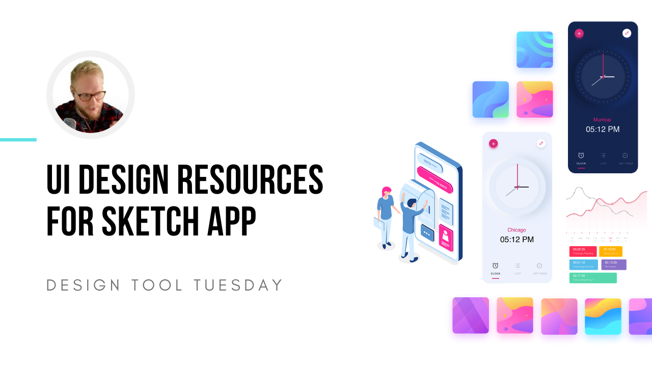 Ui design assets for sketch app - design tool tuesday