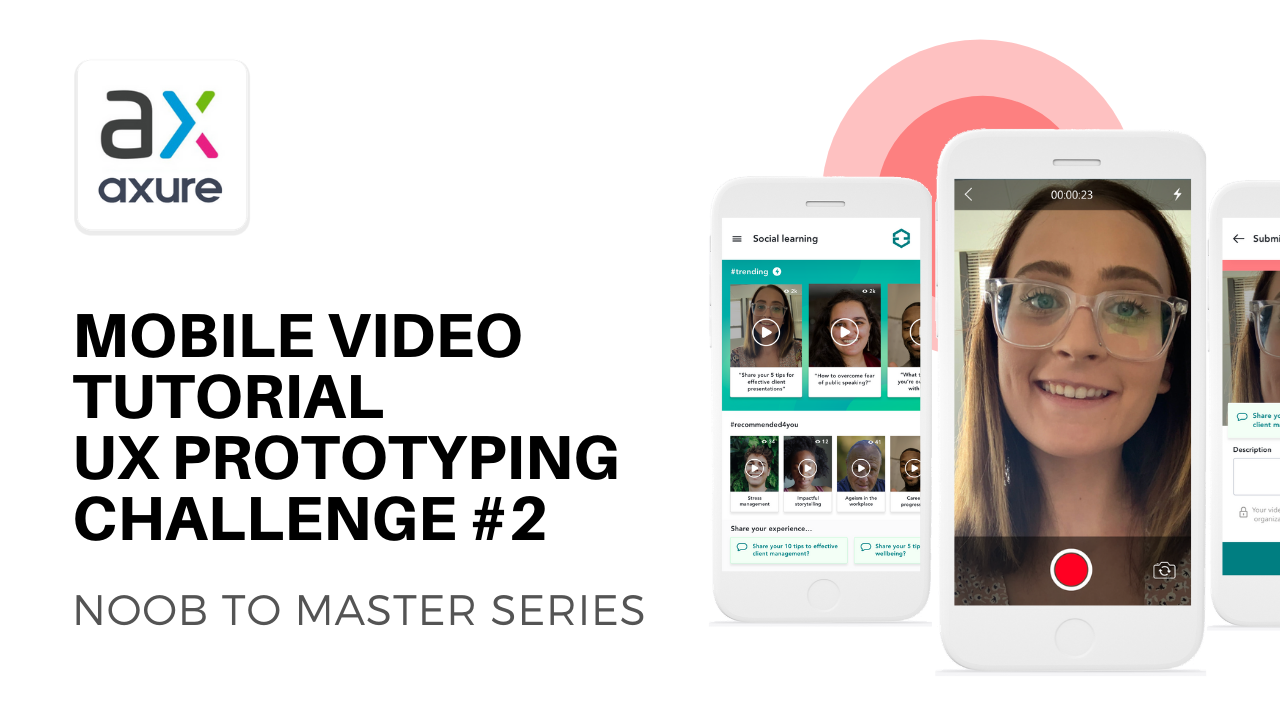 Mobile Video Recording Tutorial - UX Prototyping Challenge #2