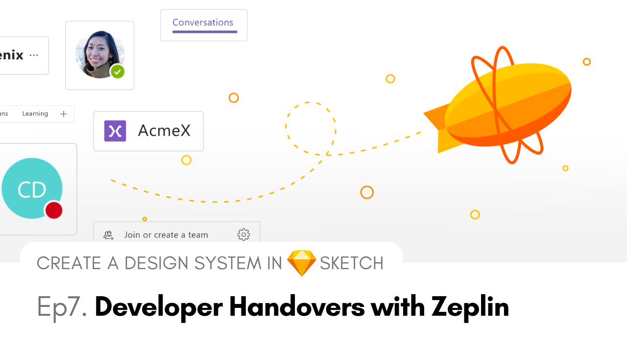 Developer Handovers with Zeplin - Create a Design System in Sketch