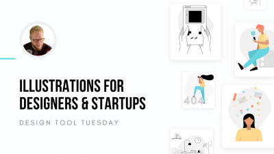 Illustrations for Product Designers and Startups - Design Tool Tuesday