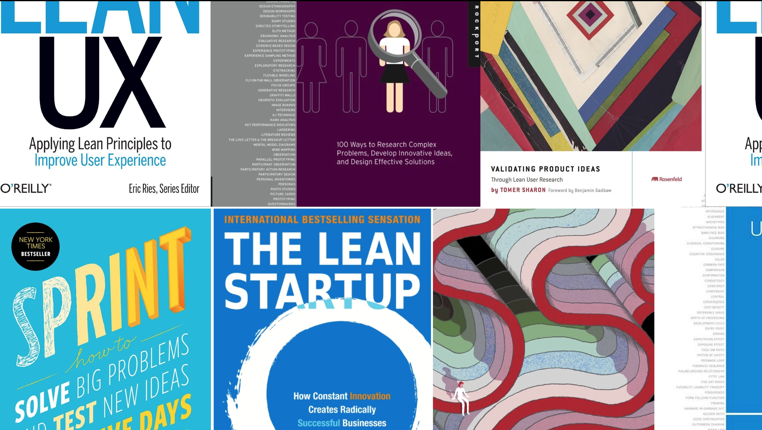 essential lean ux product design books