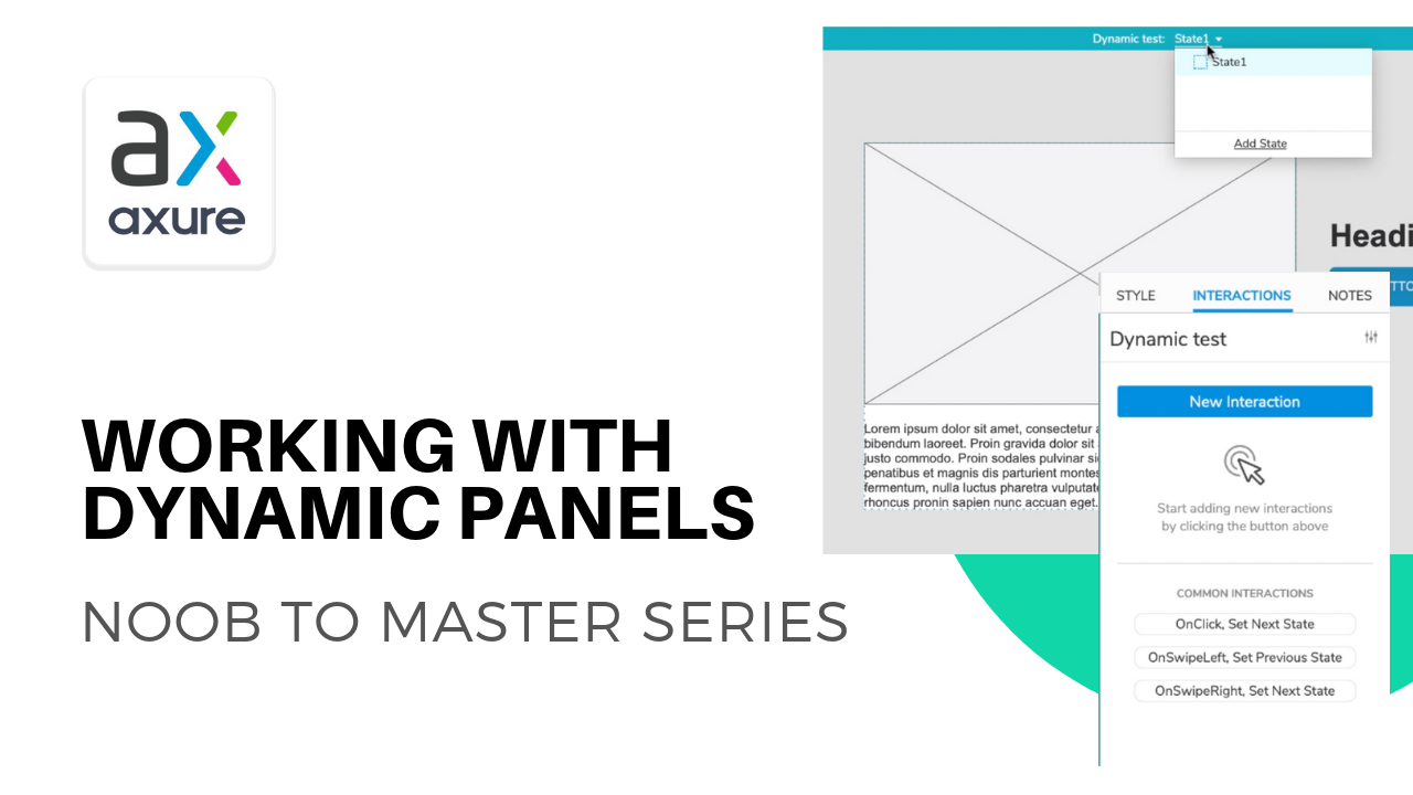 Axure dynamic panels