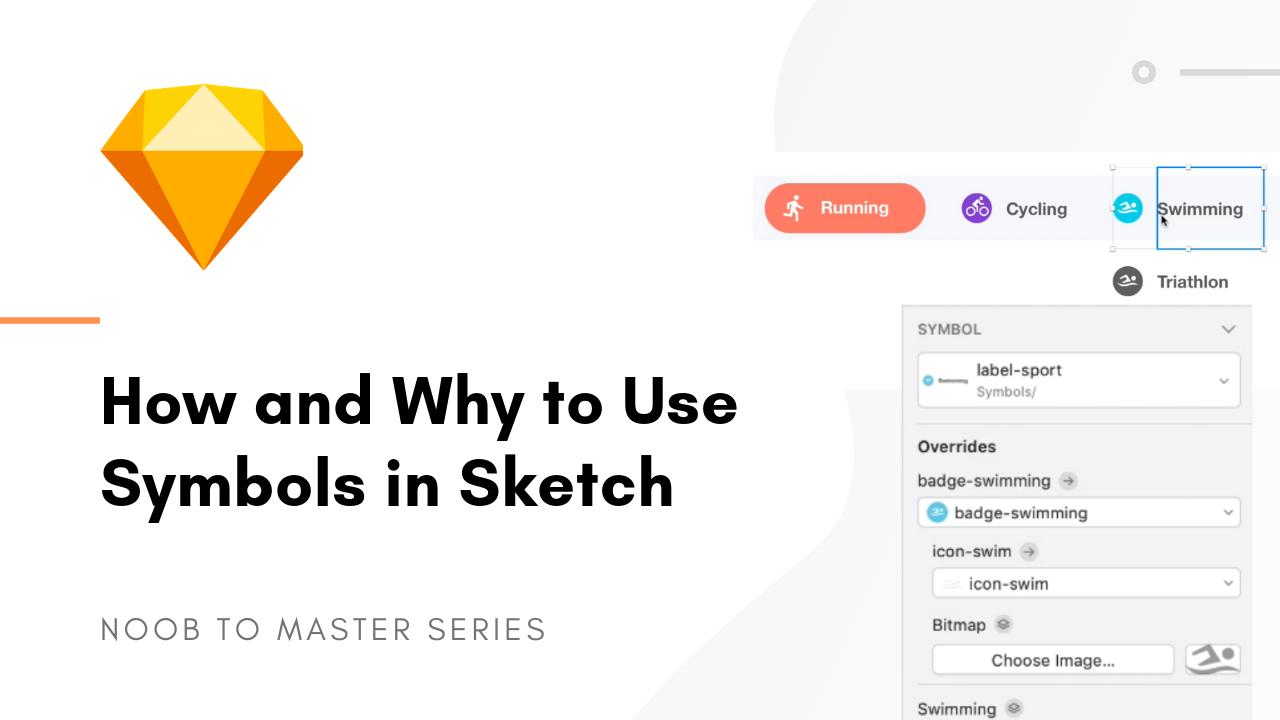 Sketch symbols how to use them