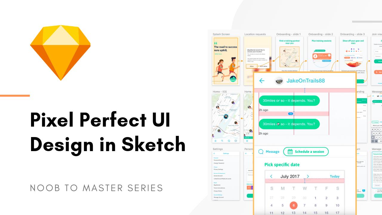Pixel perfect UI design in Sketch