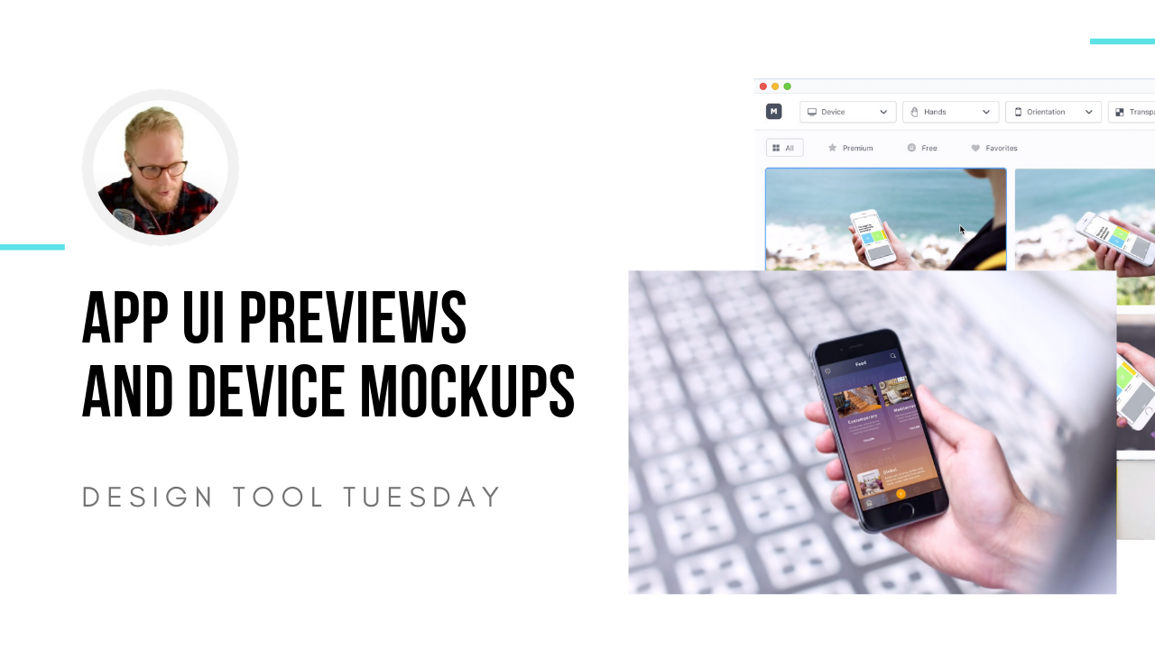 app ui mockup app design tool tuesday