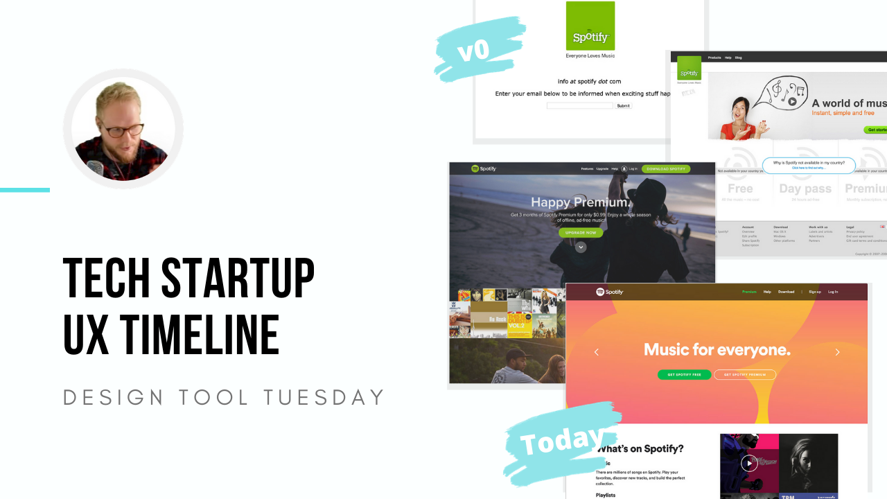 Tech Startup UX Timeline - Design Tool Tuesday