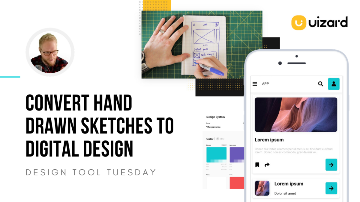 Transform Hand-drawn Sketches to Digital Design with Uizard - Design Tool Tuesday