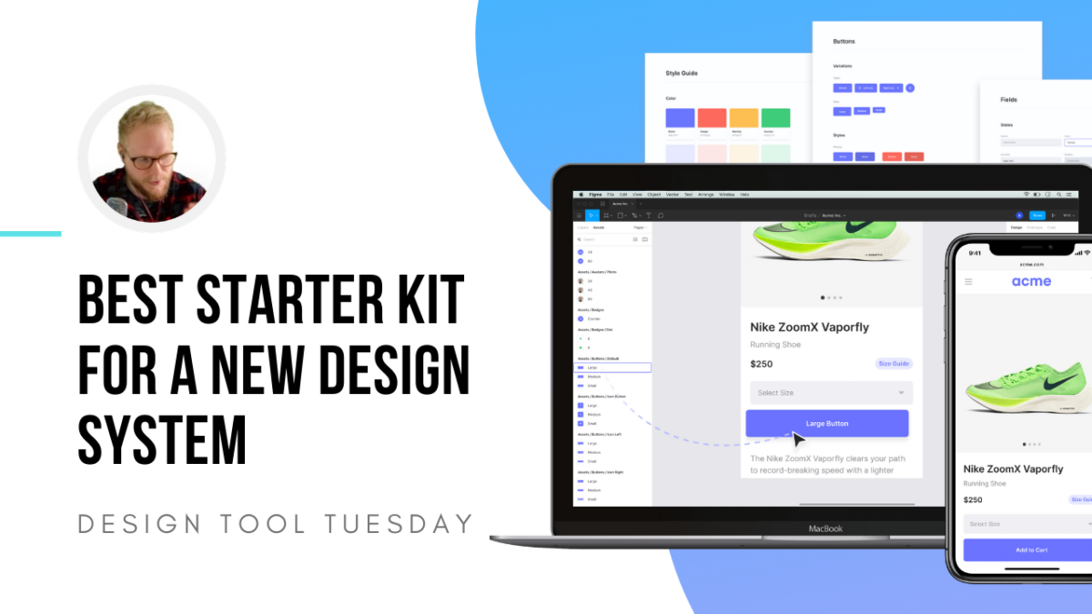 Best Starter Kit for a New Design System? - Design Tool Tuesday
