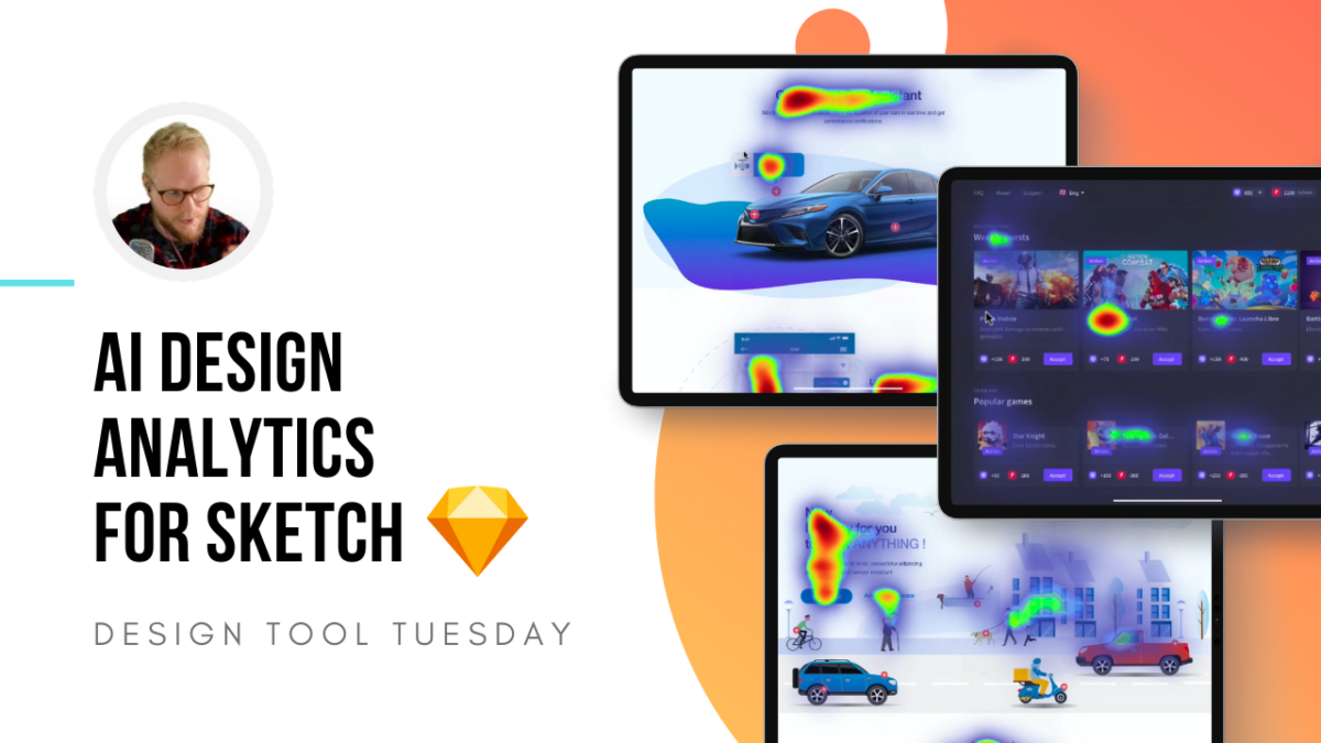 AI Design Analytics Sketch Plugin - Design Tool Tuesday