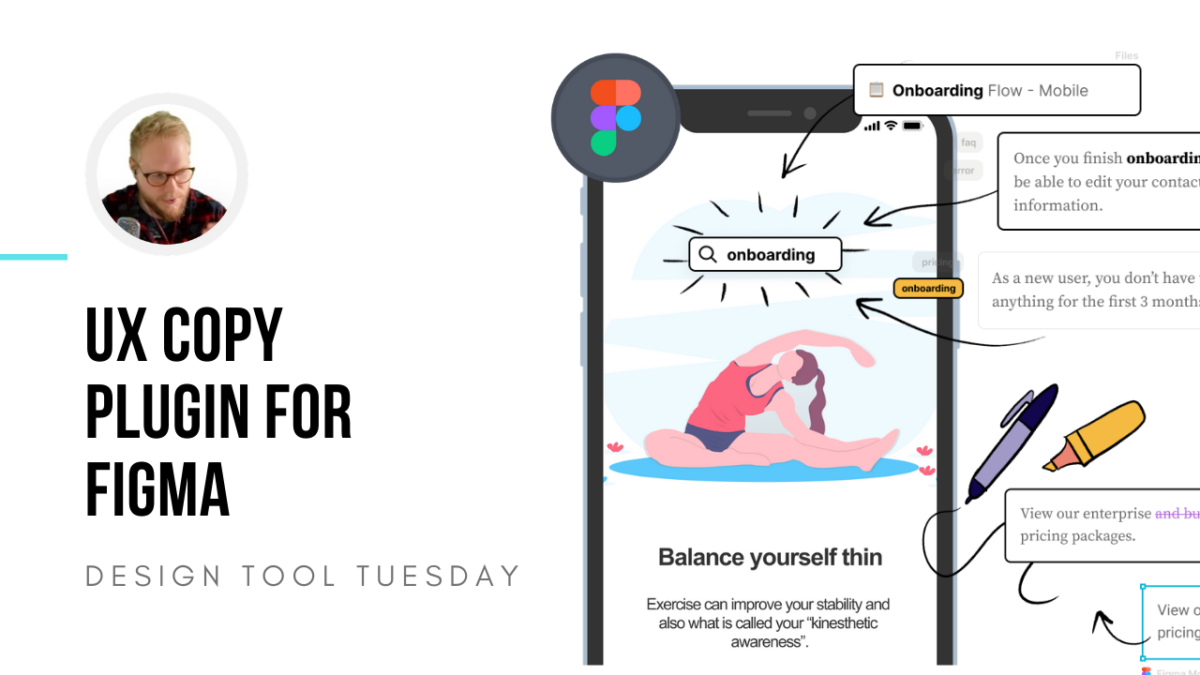 UX Copy Manager for Figma - Design Tool Tuesday