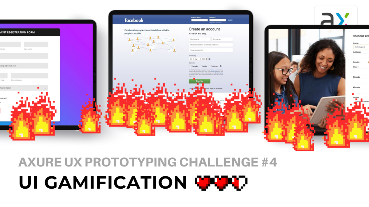 Axure UX Prototyping Challenge #4: UI Gamification