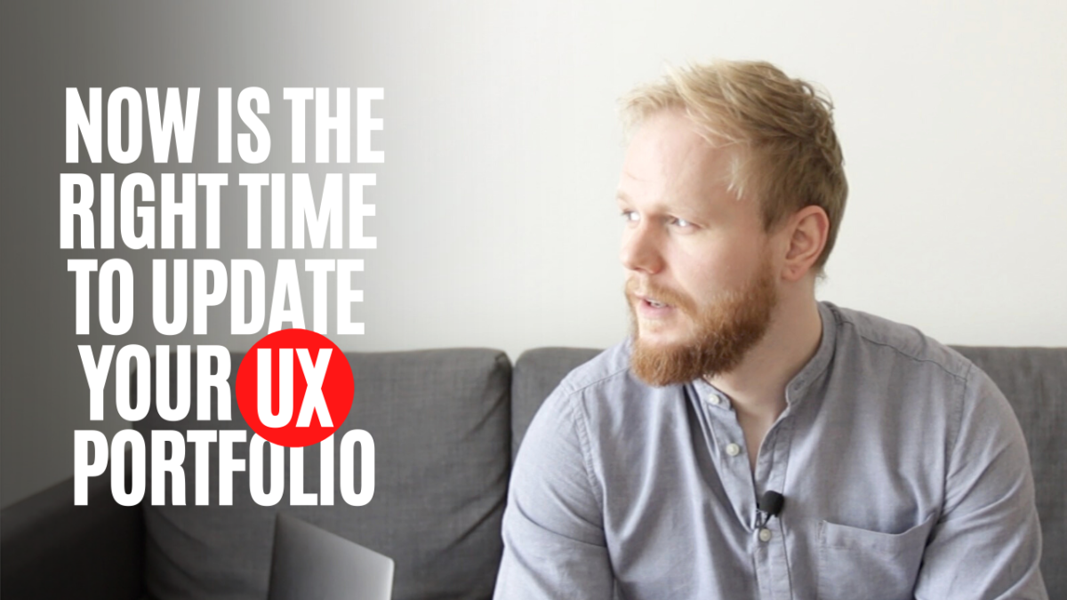 Now is the Right Time to Work on Your UX Portfolio