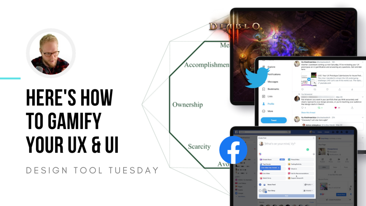 UX/UI Gamification Framework with Examples - Design Tool Tuesday
