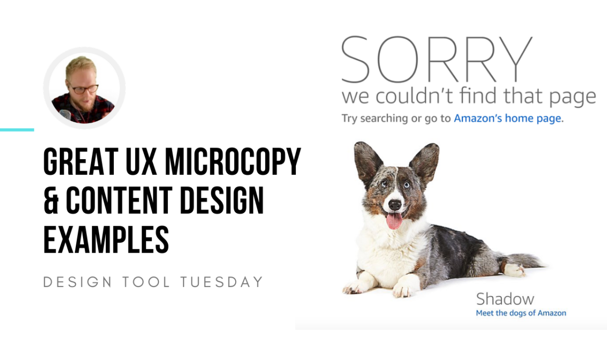 Great UX Microcopy & Content Design Examples - Design Tool Tuesday