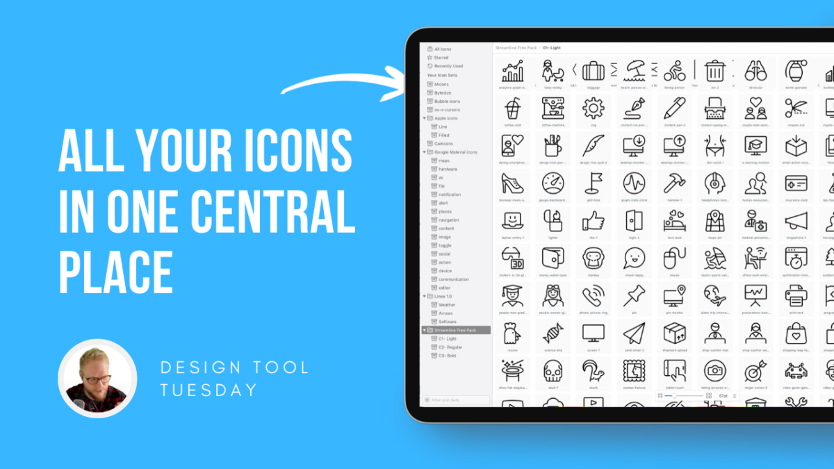 Manage All of Your Icons in One Central Place - Design Tool Tuesday
