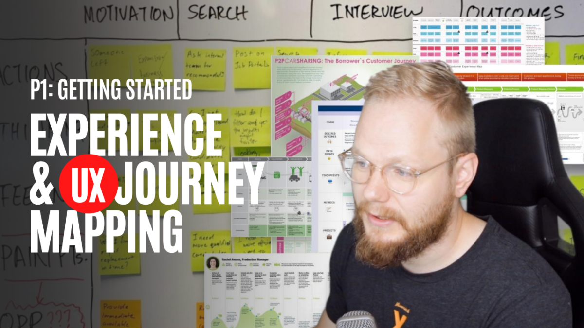 How to get started with Experience and UX journey mapping tutorial