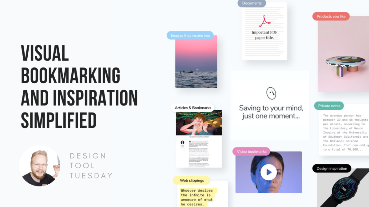 mymind: Visual Bookmarking and Inspiration Simplified