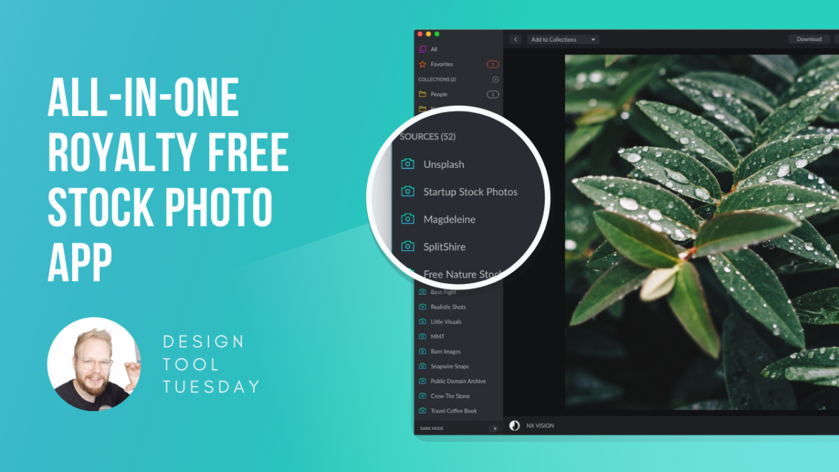 All-in-one Free Stock Photo App for Product Designers