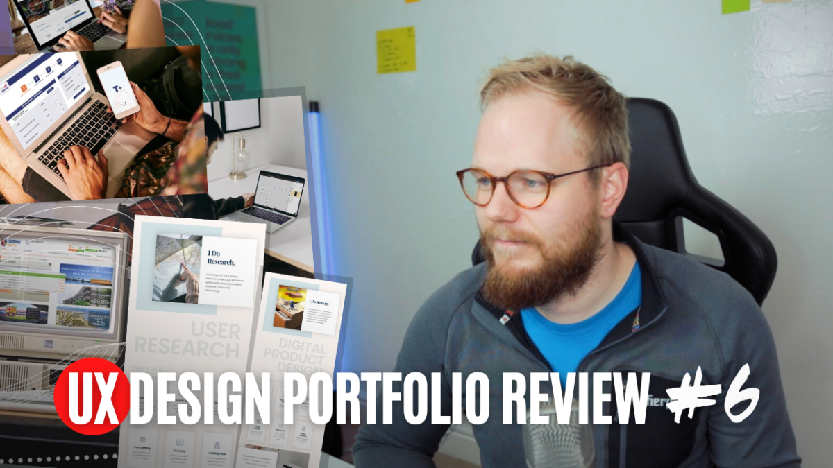 UX Portfolio Review: Show, Don't Tell in Your UX Case Study