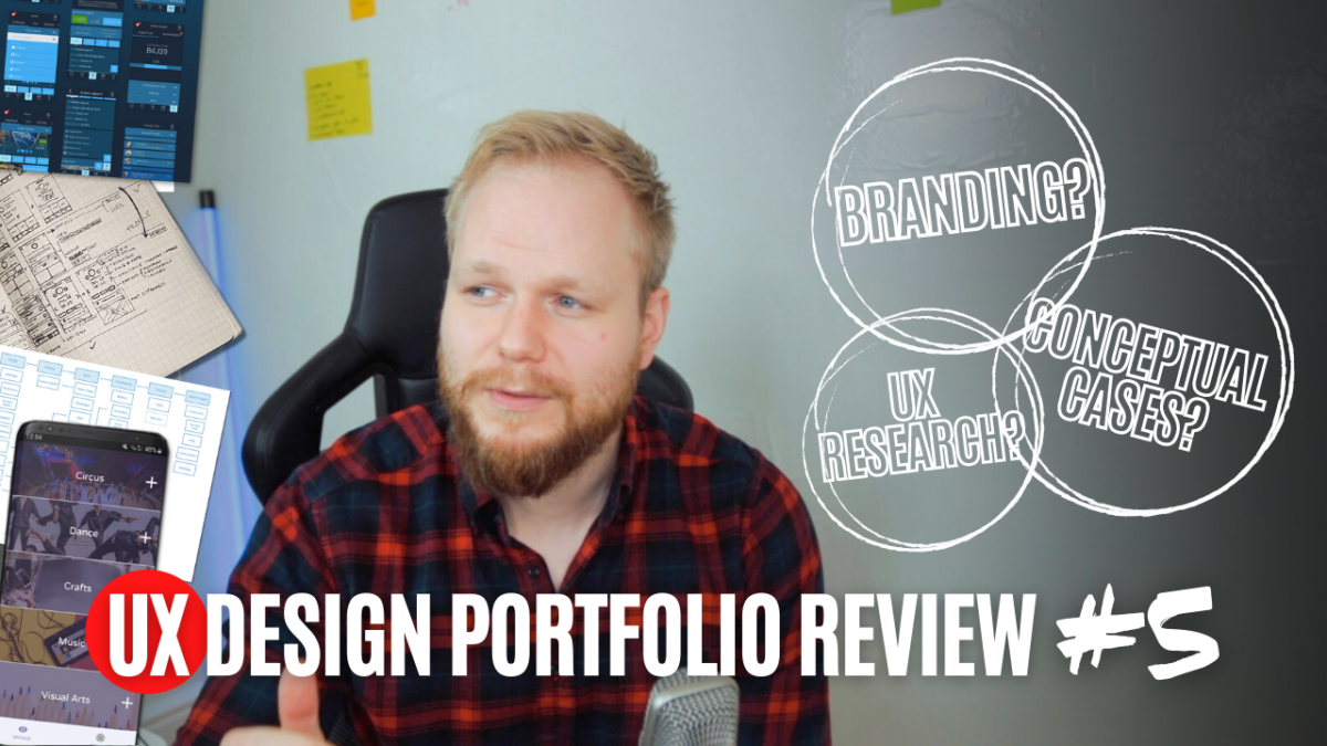 UX Portfolio Review: Choosing the Right UX Case Study Content