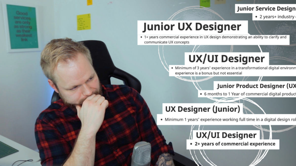 The Harsh Reality of Getting into UX: Commercial Experience