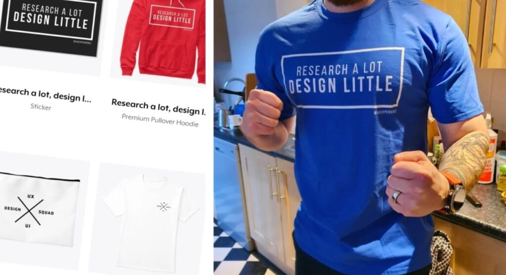 UX/UI themed merchandise and gifts for designers by vaexperience