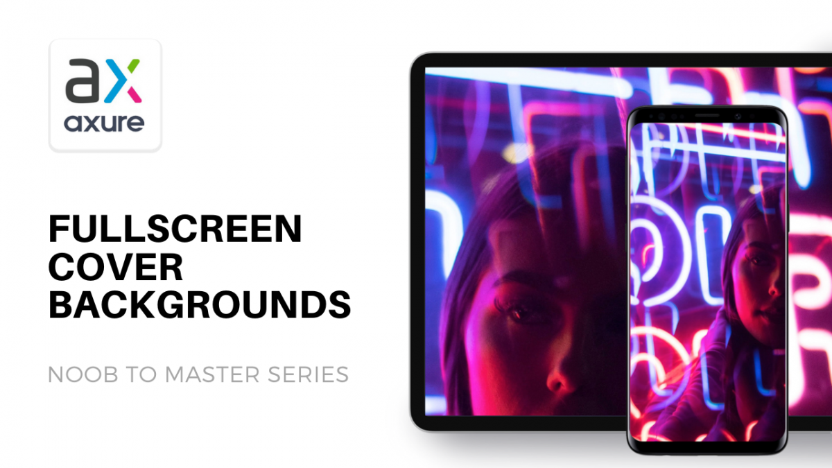 Fullscreen cover background in Axure