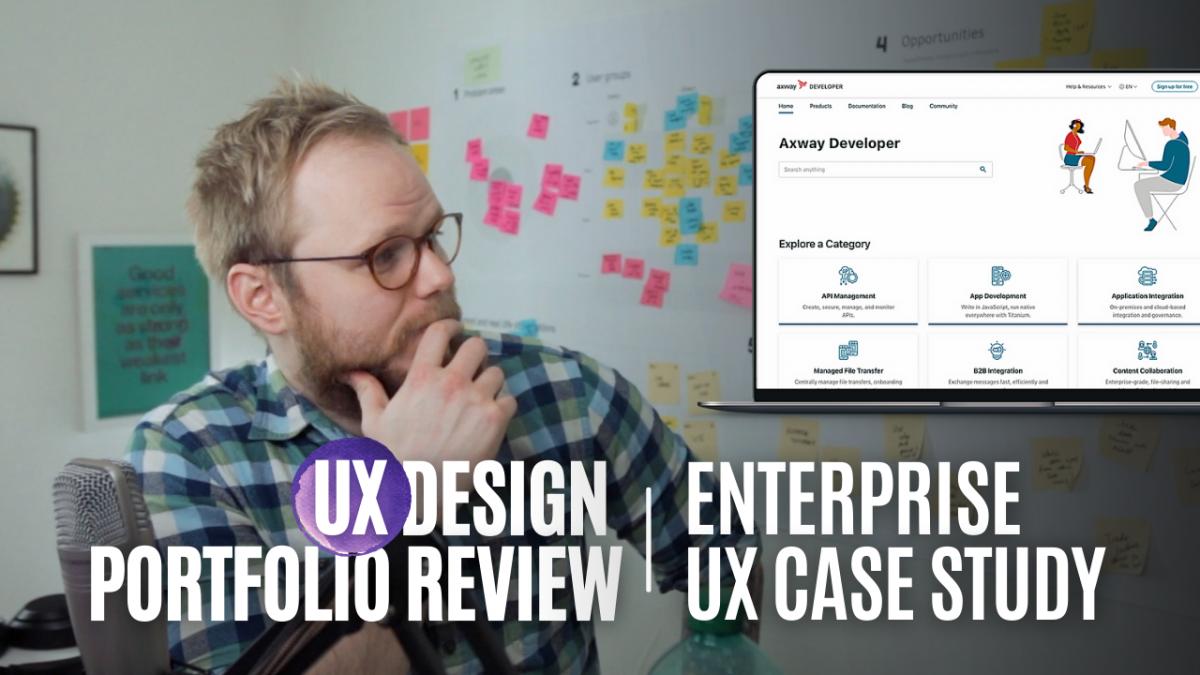 Ux portfolio case study for enterprise tools