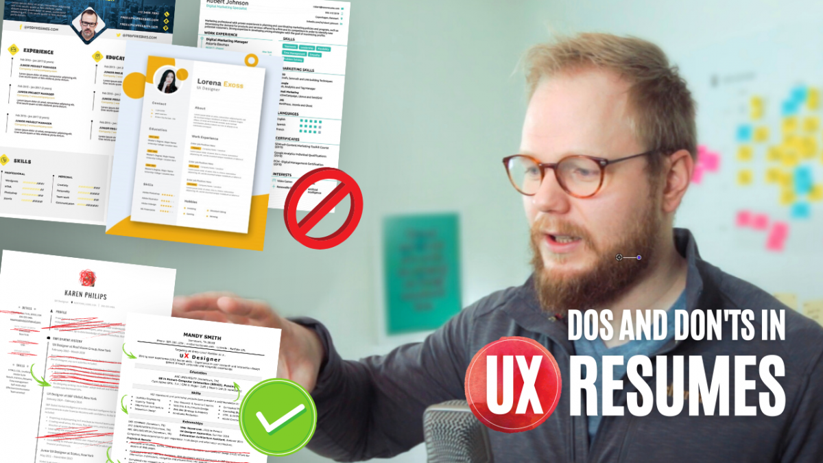 ux resumes comaprision the good the bad and the ugly