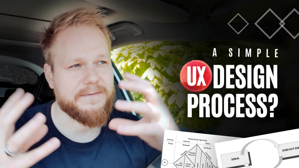 Simple UX Design Process for Beginners?