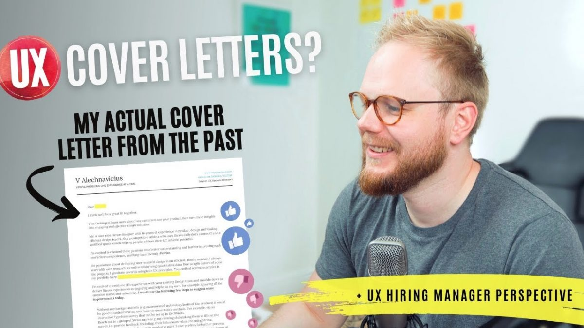 UX Cover Letter How to (Only Because You Asked For It)