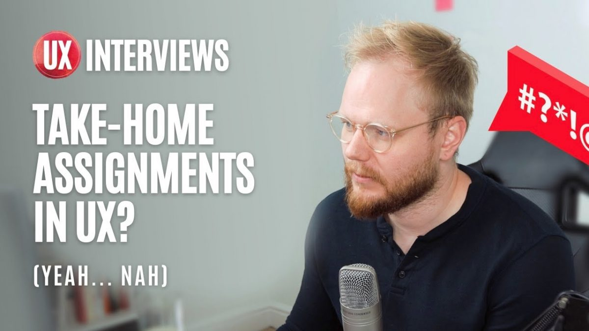 UX Interviews: Take-Home Design Assignments (and How to Deal with Them)