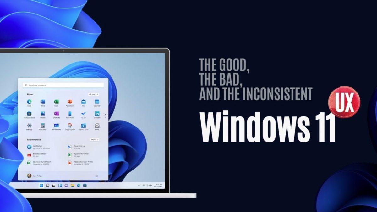 Windows 11 ux review