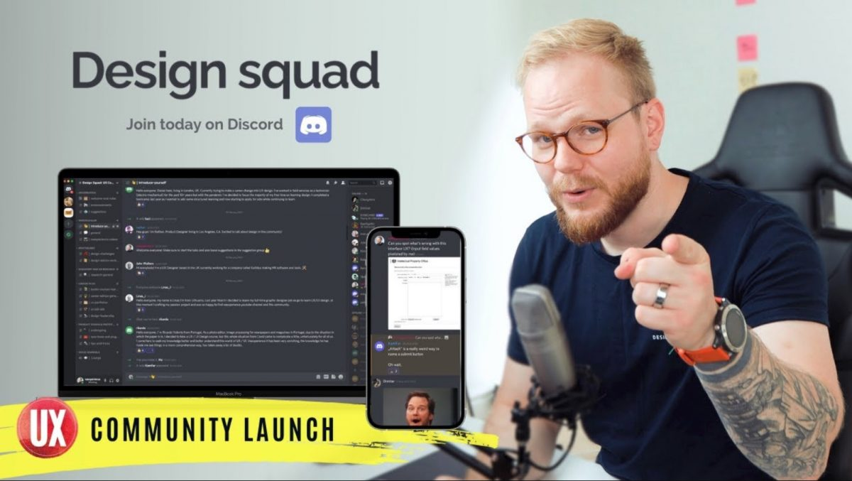 Design Squad: UX Community for Designers and Researchers Launch on Discord