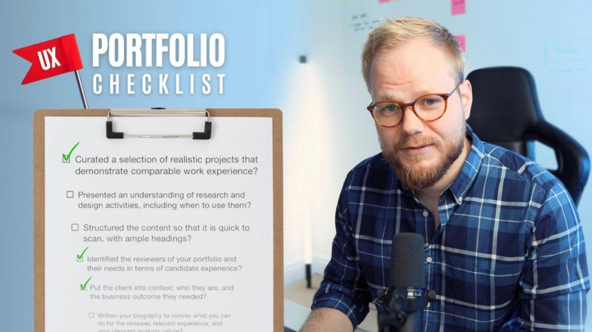 UX Portfolio Design Checklist - Design Tool Tuesday