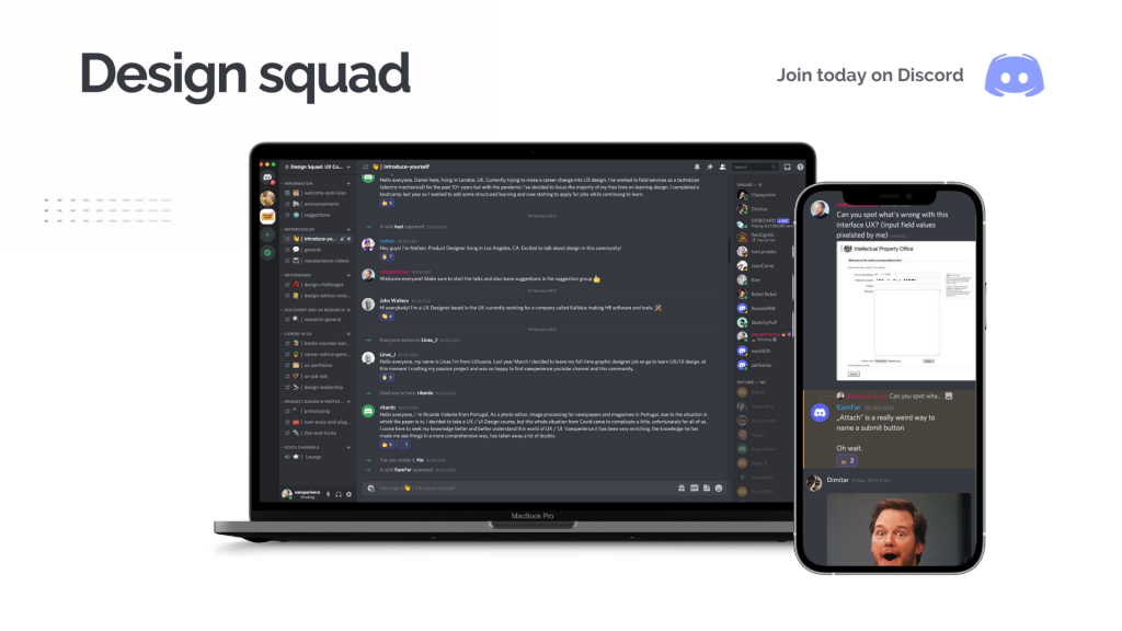 ux community on discord from vaexperience
